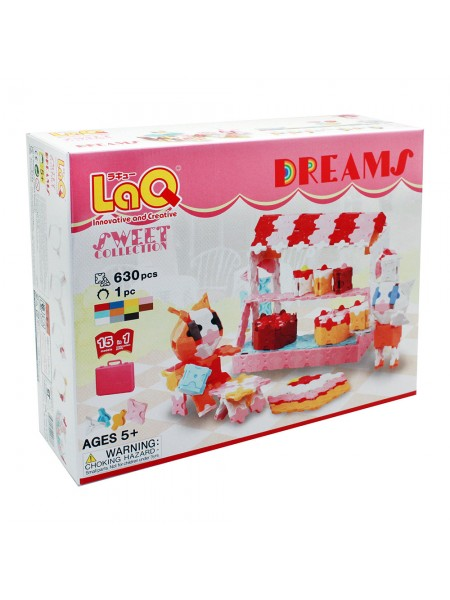 LaQ Sweet Collection Dreams, Конструктор, 630+1 деталь
