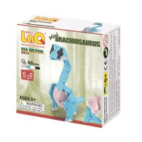 LaQ Dinosaur World mini Brachiosaurus, Конструктор 88 деталей