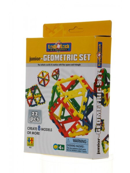 Конструктор TOTOTOYS 461 Lock N Lock - Junior-Geometric Set (22 дет.)