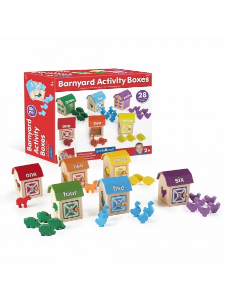 Сортер Barnyard Activity Boxes Ферма
